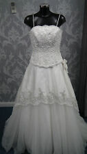 Ex Showroom Ivory Ronald Joyce Dress Size 12