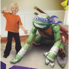 "Ninja Turtle Airwalker 44""Jumbo Foil Balloon Birthday Party Supplies Decor"