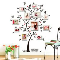 Photo Frame Family Tree Removable 3D Wall Stickers Art Decal Home Decor UK