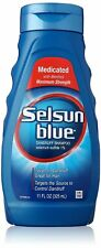 Selsun Blue Maximum Strength Dandruff Shampoo, 11 Ounce