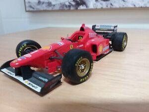 Maisto Ferrari  f1 schumacher  shell 1996  1:20 diecast