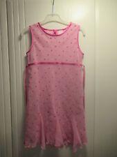 Girls Ex-Adams Pink Party Dress Bridesmaid Flower Girl 7yrs