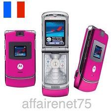Téléphone Portable Motorola Razr V3 Neuf Débloqué Rose Pink