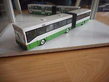 NZG Mercedes Gelenkbus in White/Green on 1:50