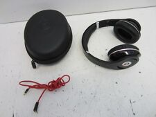Beats by Dr. Dre Studio Wired Headphones Black w/ Case - Untested