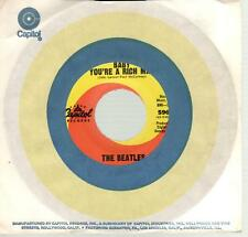 The Beatles:Baby You're A Rich Man b/w All You Need Is Love, 7 in Record in Cap