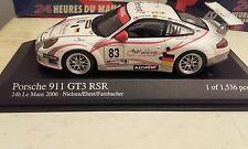 PORSCHE 911 GT3 RSR 24 heures du mans 2006 minichamps
