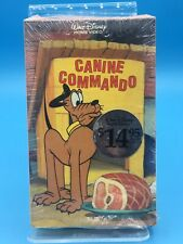 Canine Commando Pluto Walt Disney Betamax Home Video