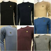 LYLE & SCOTT LONG SLEEVE CREW-NECK JUMPER FOR MEN WINTER COLLECTION