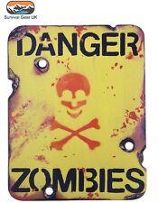 Danger Zombies Wooden Wall/ Door Plaque/ Sign for Children's/ Kids Room