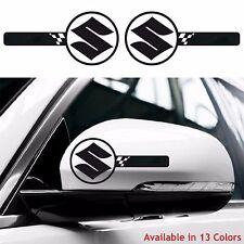 2x SUZUKI Custom Wing Mirror Body Decals Stickers Swift Sport Vitara Jimny Ignis