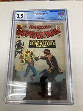 Marvel Comics Amazing SpiderMan 26 CGC Graded 3.5