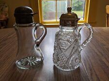 2 Vintage/Antique Syrup Dispensers