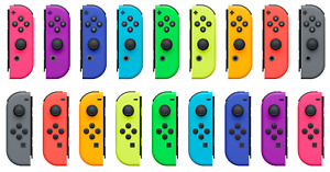 Genuine OEM Nintendo Switch Joy Con Controller Left or Right Various Colors Used