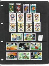 Grenada 1968-73 3 sets mint
