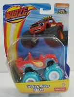 Nickelodeon BLAZE & The Monster Machines WATER RIDER BLAZE Teal Red Die Cast