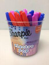 36 Count, Sharpie 1947916 Electro Pop Marker, Fine Tip, Assorted Colors