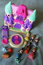 Disney Junior Sofia the first deluxe castle playset,figures plus rotating floor.