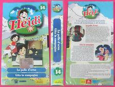 VHS film HEIDI 14 Le perle d'orso Gita in campagna SIGILLATA cartone (F77)no dvd