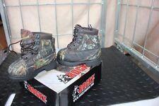 29-57 Rocky Bearclaw Kids/Boys/Girls Hunting Boots Shoes 6W Mossy Oak Waterproo