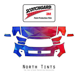 Toyota Sequoia 2018-2020 PreCut 3M Scotchgard Paint Protection Film Clear Bra