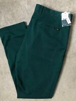 """LACOSTE MEN'S GREEN SLIM FIT CHINOS TROUSERS PANTS HH955300E76 - 38"""" - NEW TAGS"""