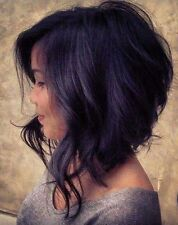 Short Bobo Hair For Black Women Black and Short Wave Synthetic Perruque Wigs