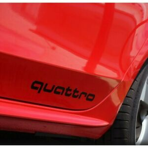 Stickers audi Quattro Originals A3 A4 A5 A6 A7 A8 S3 S4 S5 S6 36CM