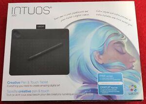 Wacom Intuos ART S schwarz CTH-490AK-S Grafiktablet mit Stift + Touch + OVP