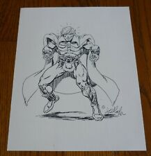 1978 Jim Starlin Adam Warlock ORIGINAL sketch art, 9x12, pencil and ink! Marvel