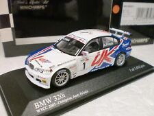 MINICHAMPS 1/43 - BMW 320i TEAM UK WTCC 2005 CHAMPION A. PRIAULX - 400 052401