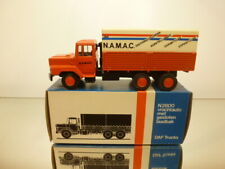 LION CAR 72 DAF N2800 TORPEDO TRUCK NAMAC - ORANGE 1:50 RARE  - VERY GOOD IN BOX