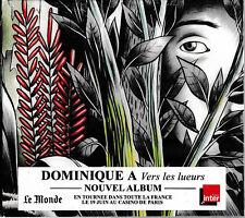 DOMINIQUE A - VERS LES LUEURS, CD / NEU+OVP-SEALED!