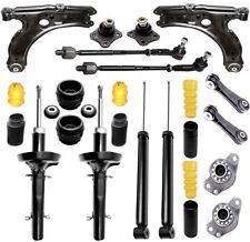 4 Gas Stoßdämpfer + Domlager, Spurstangen, Querlenker  >VW GOLF 4 /AUDI A3 /SEAT