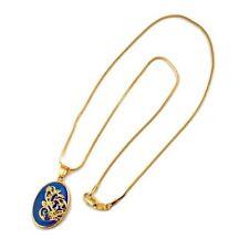 Halsketten und Anhänger aus Gelbgold mit Opal Edelsteine