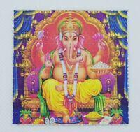 Ganesh Blotter Art Psychedelic Art LSD Acid Art Print 100 Tab Sheet LSD Gift