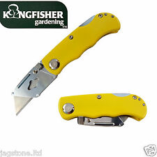 SPORTS WORK FOLDING TRIMMING POCKET UTILITY KNIFE HOLDER TAKES STANLEY NO BLADE