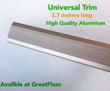 High Quality Universal Aluminium Trims Flooring Accessories Edging Champagne