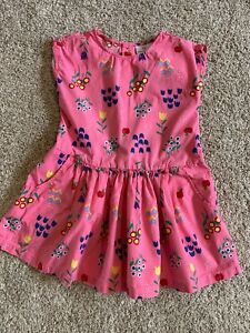 Hanna Andersson Girls Pink Cotton Spring Dress 110/ US 6