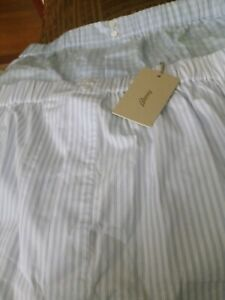 NWT BRIONI BOXER SHORTS 3XL COTTON 3XL $240 ITALY MADE LUXURY FABRIC
