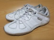 Diesel Whitney White Leather Women's Sneakers Shoes 10