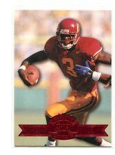 1996 Press Pass Paydirt Red #1 Keyshawn Johnson USC Trojans