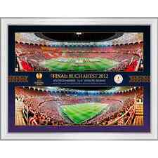 2012 Europa League Final Framed Panoramic Montage Photographic Print
