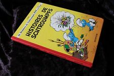 BD HISTOIRES DE SCHTROUMPFS par PEYO - Edit. DUPUIS 1976 - 8e série