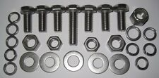 MGB Gearbox Mounting fasteners - Stainless Steel - suits 4 Synchro boxes