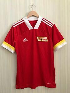 5+/5 1. FC Union Berlin 2020/2021 Home Sz L Adidas shirt jersey football trikot