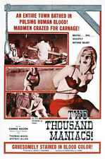 Two Thousand Maniacs Poster 01 A3 Box Canvas Print