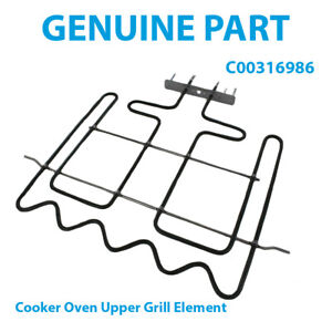 WHIRLPOOL AKZ 244/WH AKZ 245/IX AKZ 245/NB Cooker Oven Grill Element C00316986