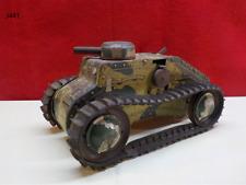 Vintage 1950's Marx Wind Up ARMY Tank Toy