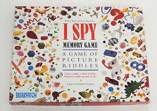 I Spy Memory Game Board Game COMPLETE R8471
